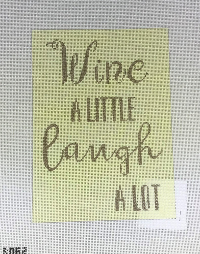 Mercury Designs 320 B062 Wine A Little Laugh A Lot