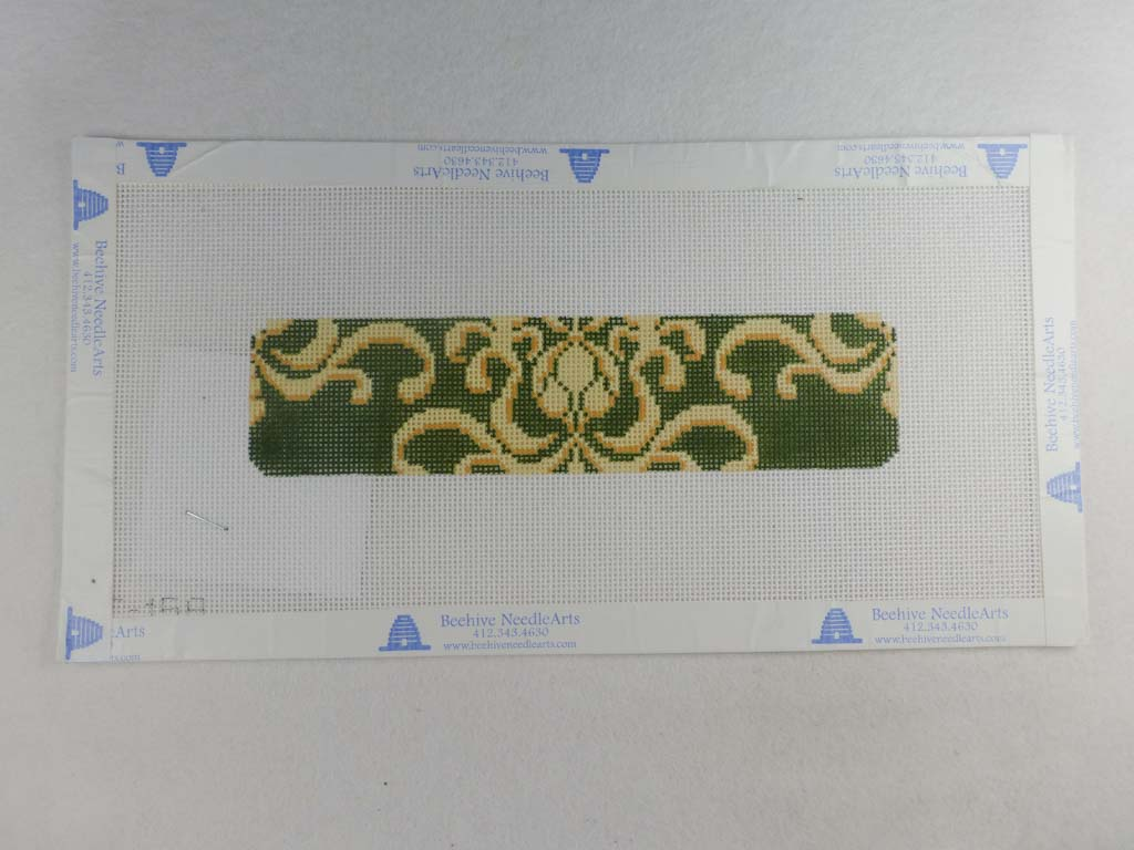 Clara Wells Needlepoint CLC158 Flourish Cuff