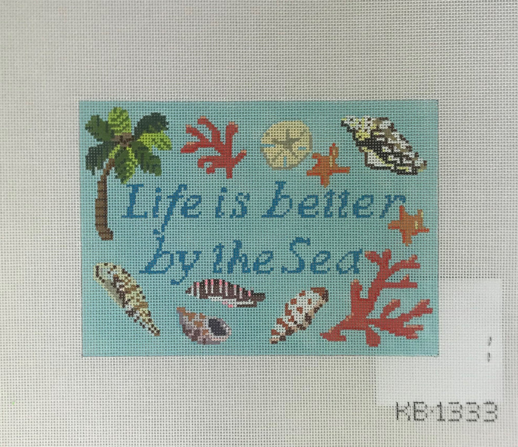 Burnett & Bradley KB1333 Life Is Better By The Sea