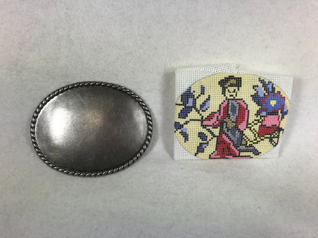 Chinese Merchant Belt Buckle - Unique NZ Designs