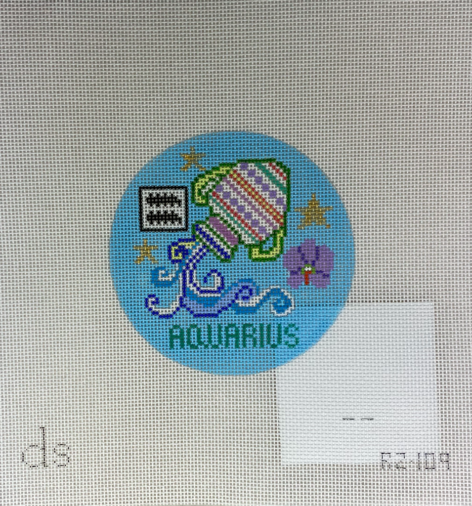 Doolittle Stitchery RZ104 Aquarius Zodiac