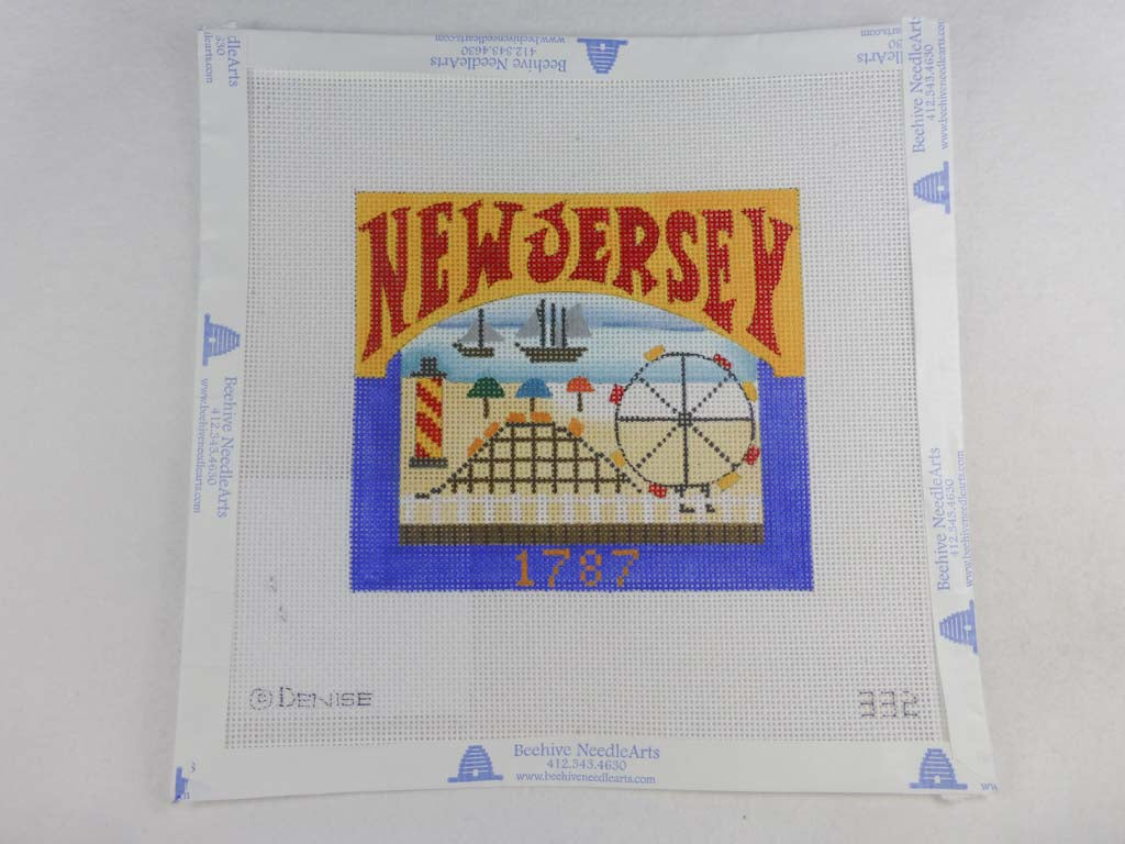 Denise DeRusha Designs 332 New Jersey