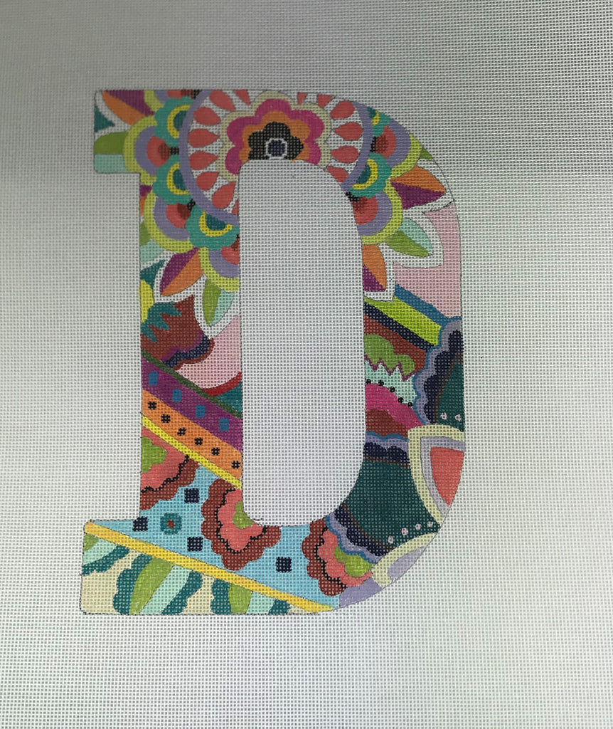 Colors of Praise Letter D