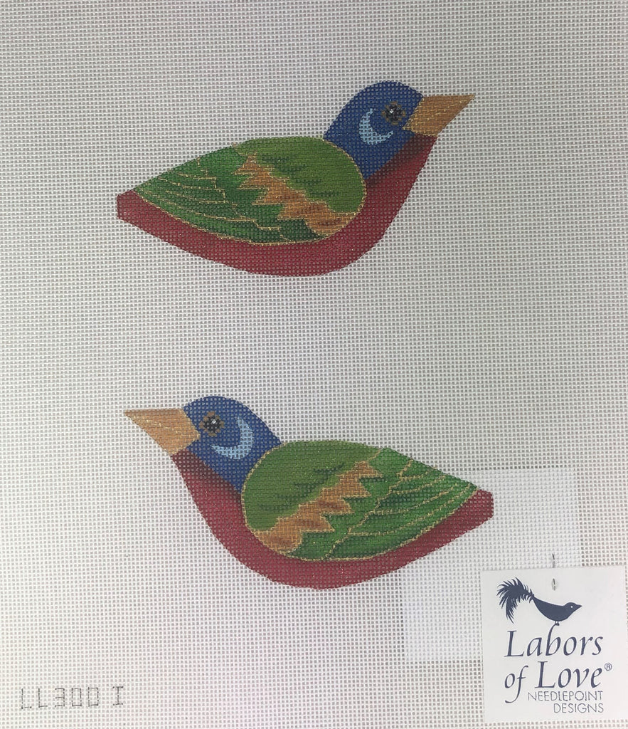 Labors of Love LL 300 I Painted Bunting