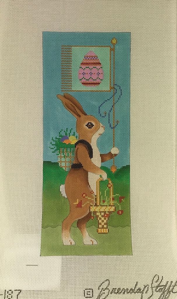 Brenda Stofft Design B187 Brown Easter Rabbit