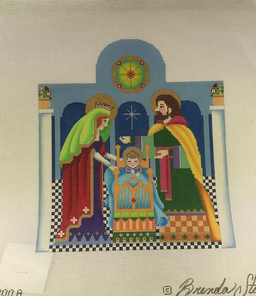 Brenda Stofft Design B300A Nativity Holy Family