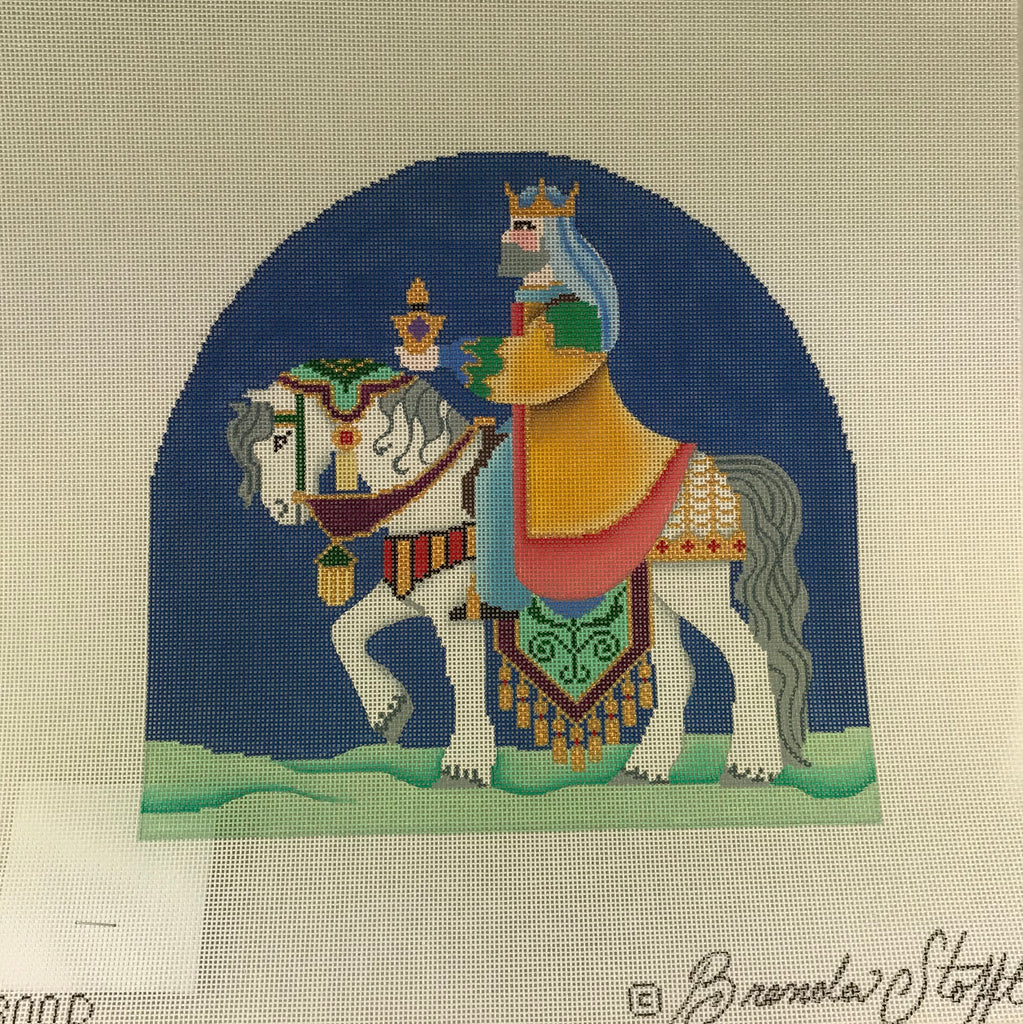 Brenda Stofft Design B300D Nativity Wise Man on Horse