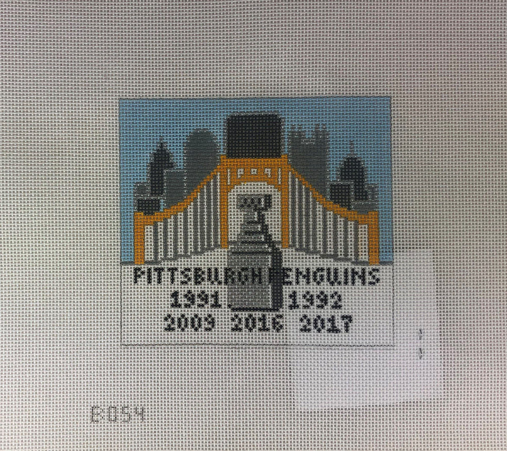 Lauren Bloch Designs B-054 Pittsburgh Pens Skyline
