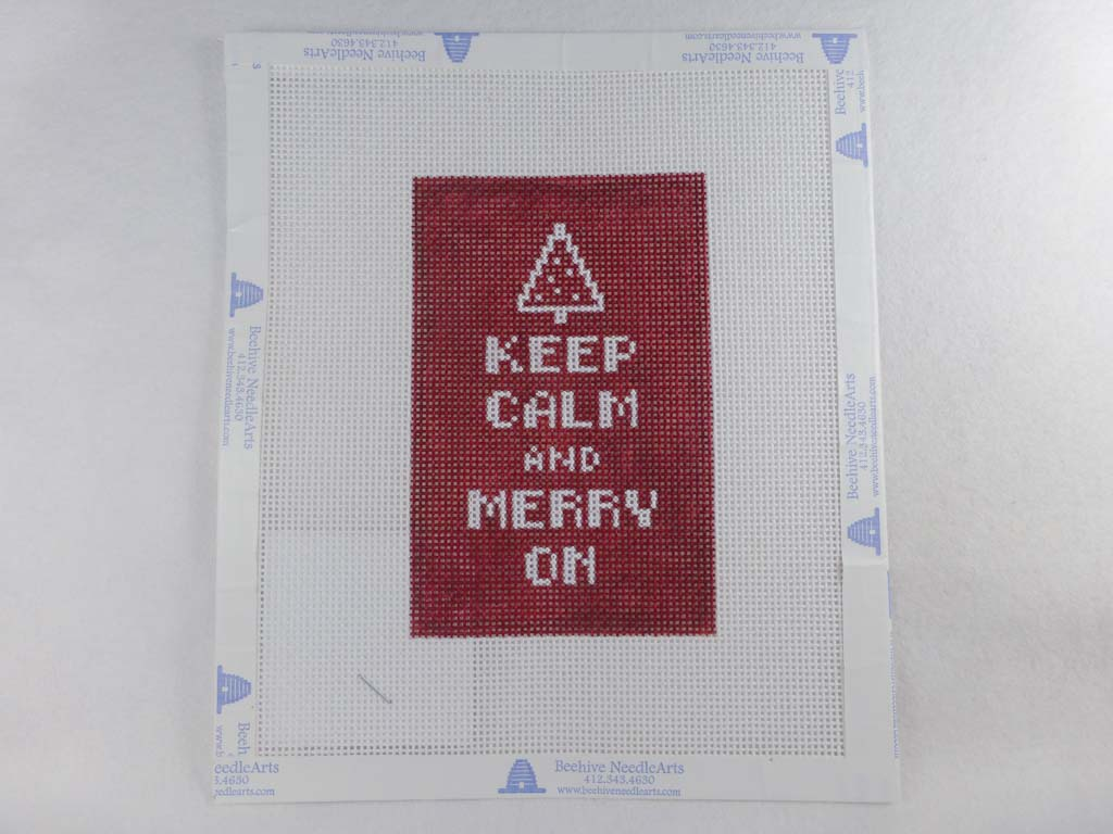 Beehive Needle Arts LB02 Keep Calm & Merry