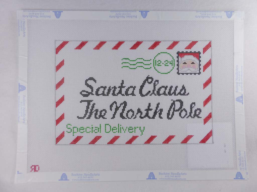 Rachel Donely Needlepointe RD031 Letter to Santa (Small)