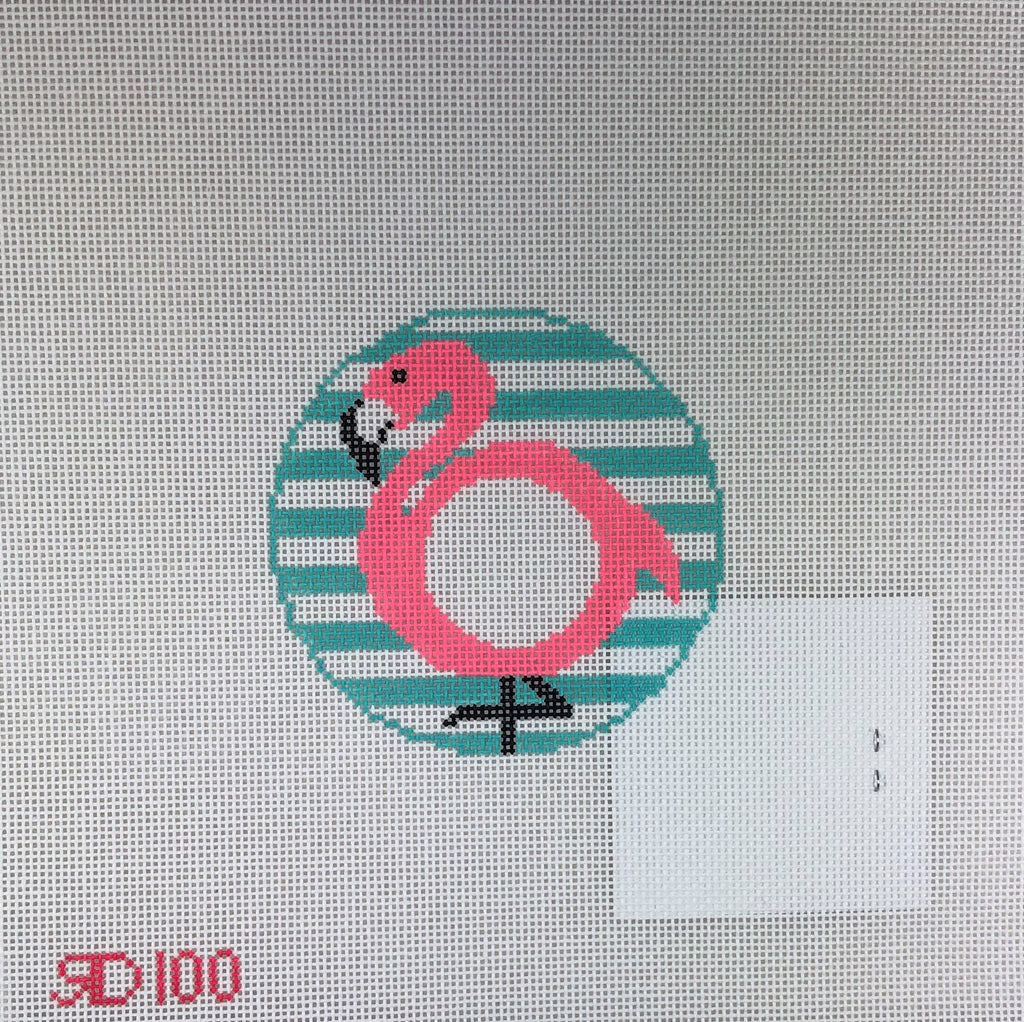 Rachel Donley Needlepointe RD100 Flamingo and Charts