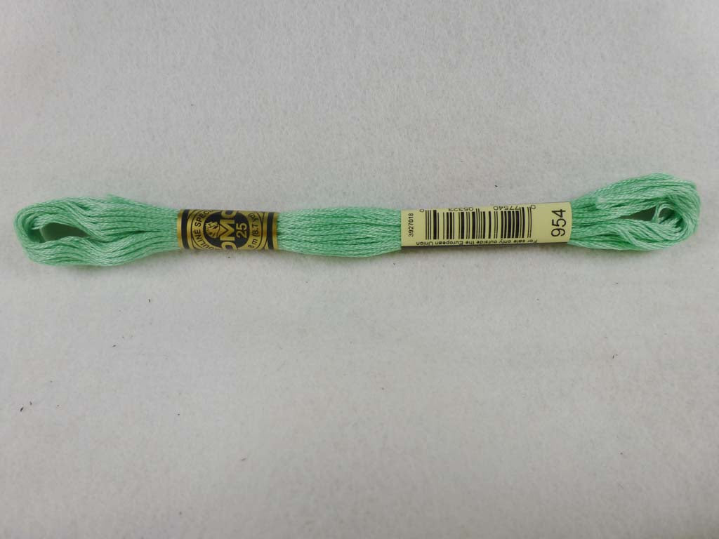 DMC Floss 954 Nile Green by DMC From Beehive Needle Arts