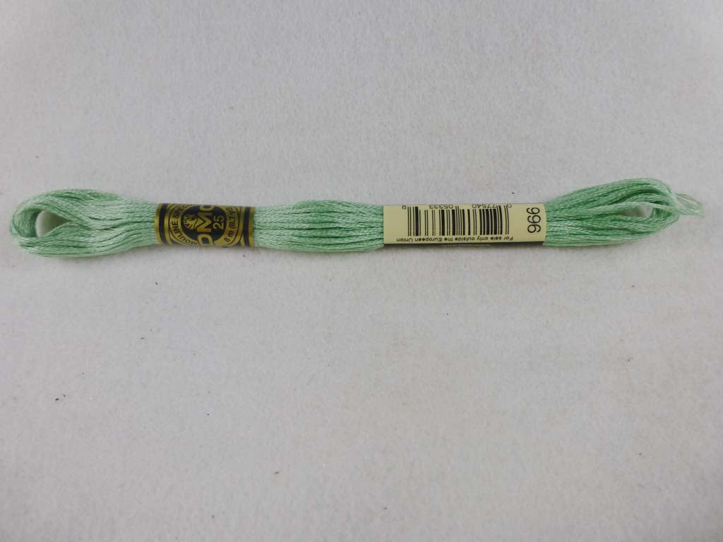DMC Floss 966 Medium Baby Green by DMC From Beehive Needle Arts