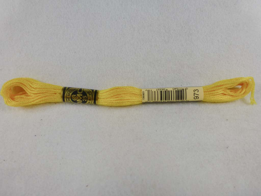 DMC Floss 973 Bright Canary by DMC From Beehive Needle Arts