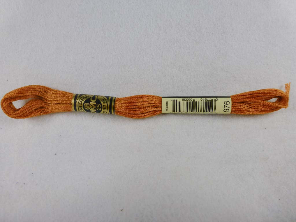 DMC Floss 976 Medium Golden Brown by DMC From Beehive Needle Arts