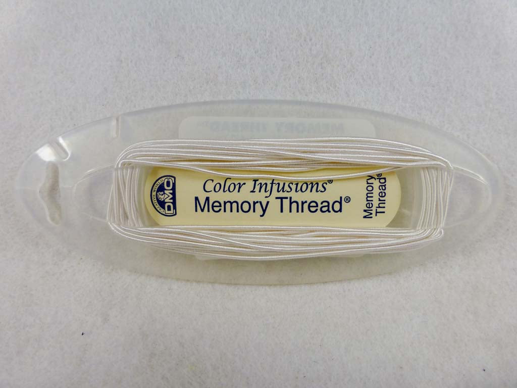 Memory Thread #6050 White by DMC From Beehive Needle Arts