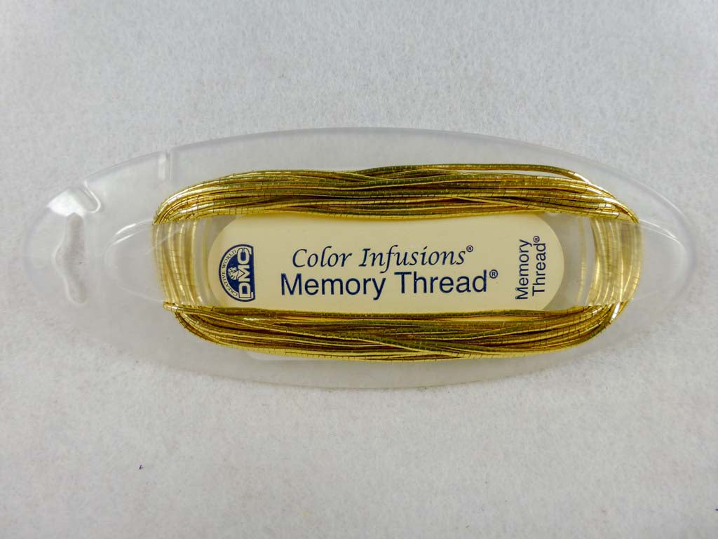 Memory Thread #6200 Gold by DMC From Beehive Needle Arts