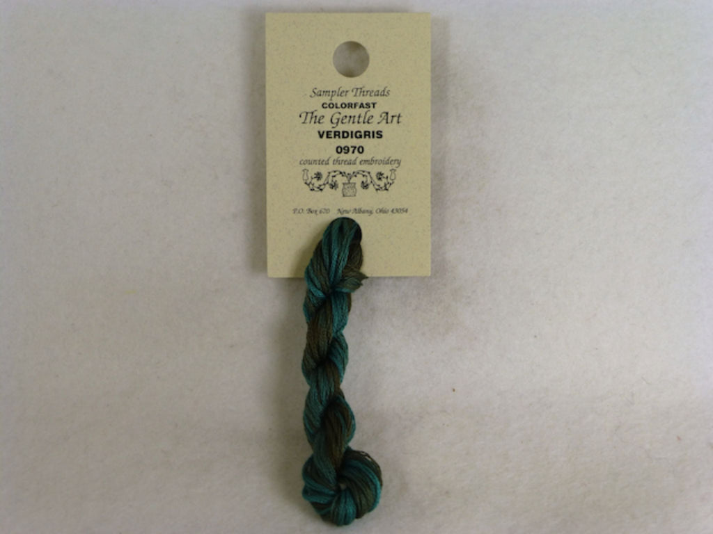 Sampler Threads 0970 Verdigris