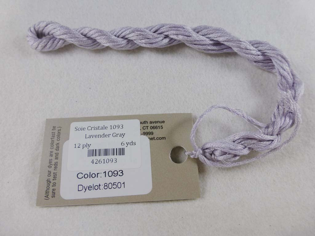 Soie Cristale 1093 Lavender Gray by Caron Collection From Beehive Needle Arts
