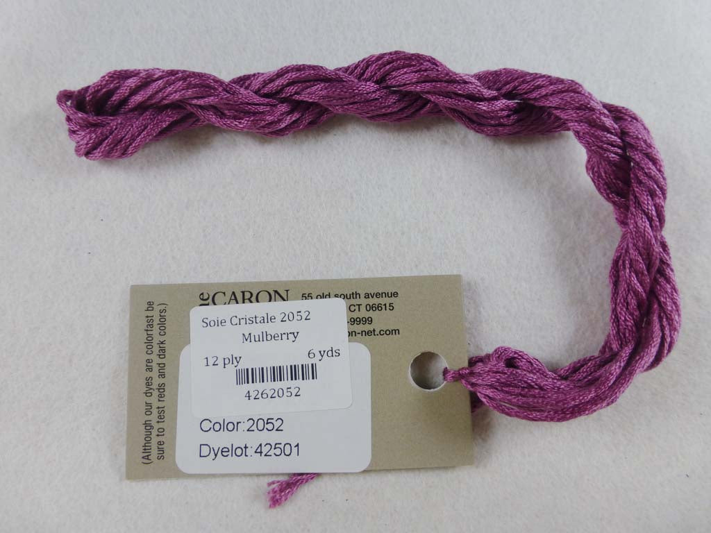 Soie Cristale 2052 Mulberry by Caron Collection From Beehive Needle Arts