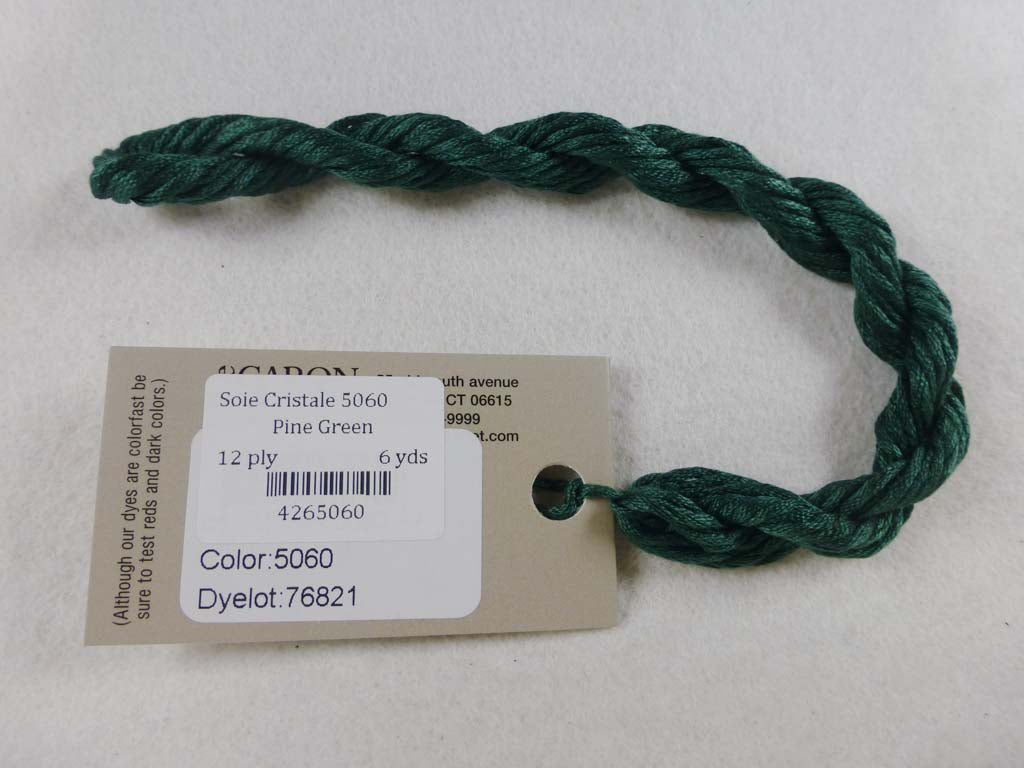 Soie Cristale 5060 Pine Green by Caron Collection From Beehive Needle Arts