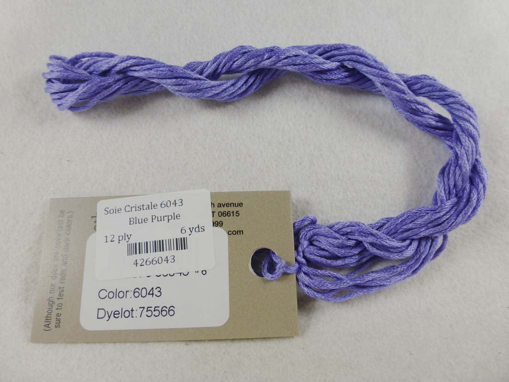 Soie Cristale 6043 Blue Purple by Caron Collection From Beehive Needle Arts
