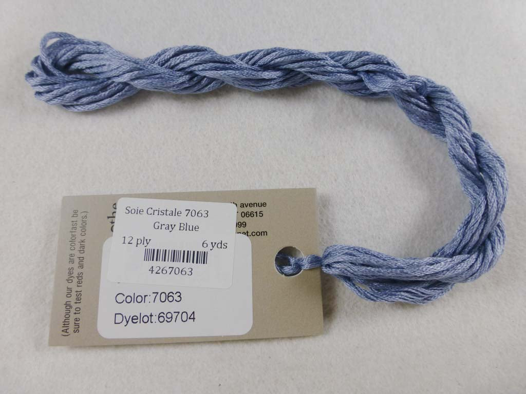 Soie Cristale 7063 Gray Blue by Caron Collection From Beehive Needle Arts