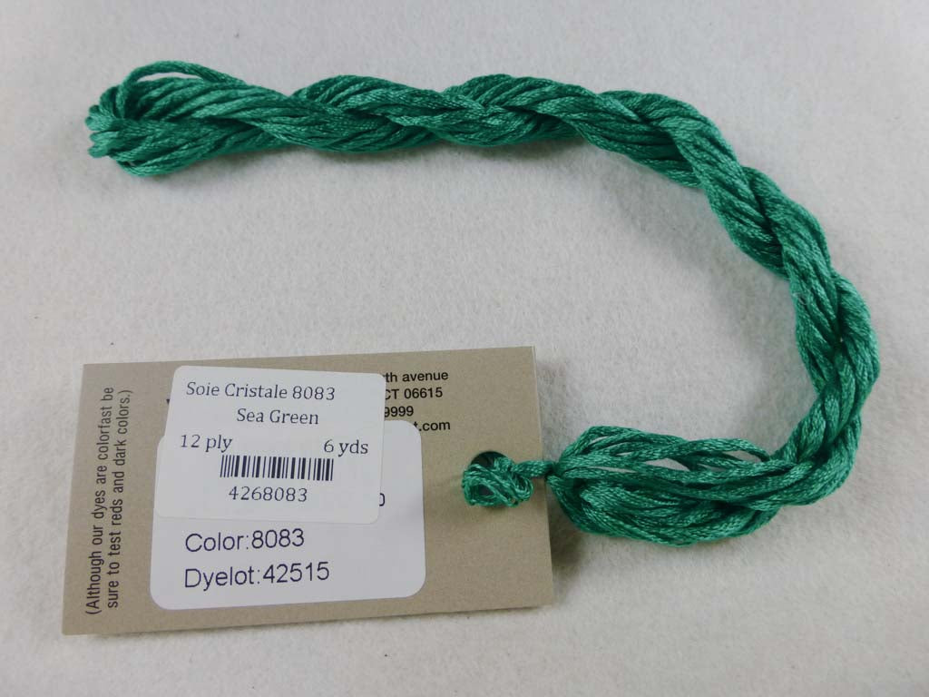 Soie Cristale 8083 Sea Green by Caron Collection From Beehive Needle Arts