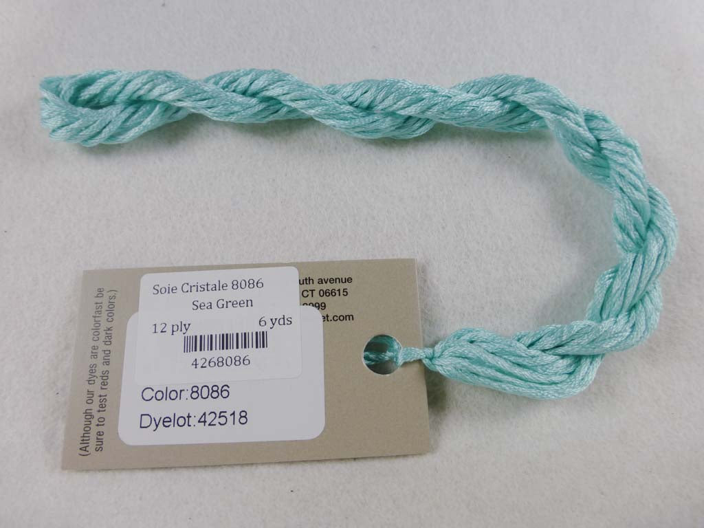 Soie Cristale 8086 Sea Green by Caron Collection From Beehive Needle Arts