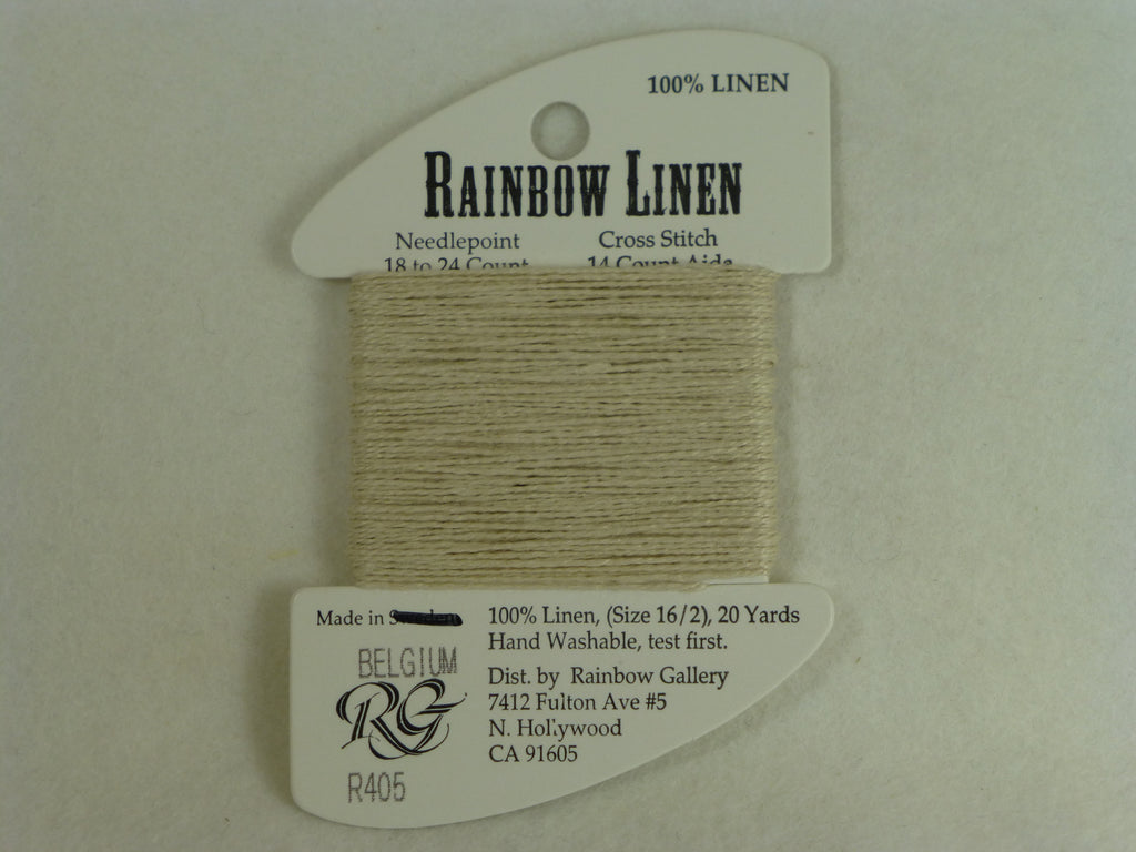Rainbow Linen R405 Pale Taupe