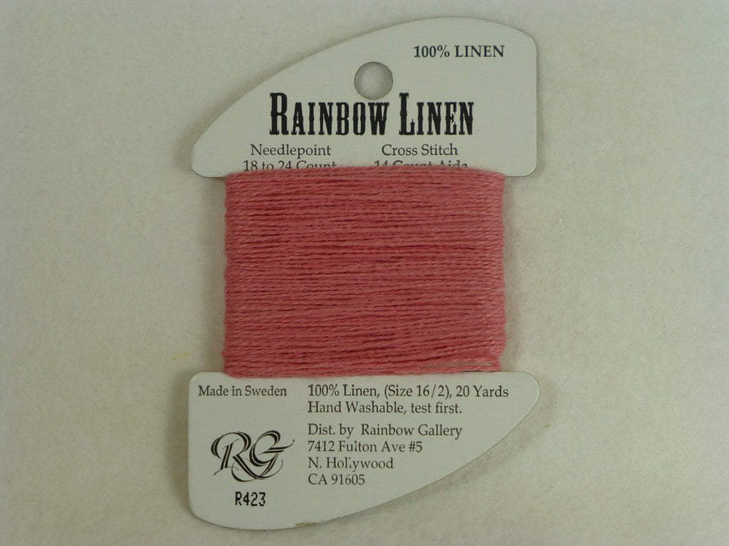 Rainbow Linen R423 Dark Rose