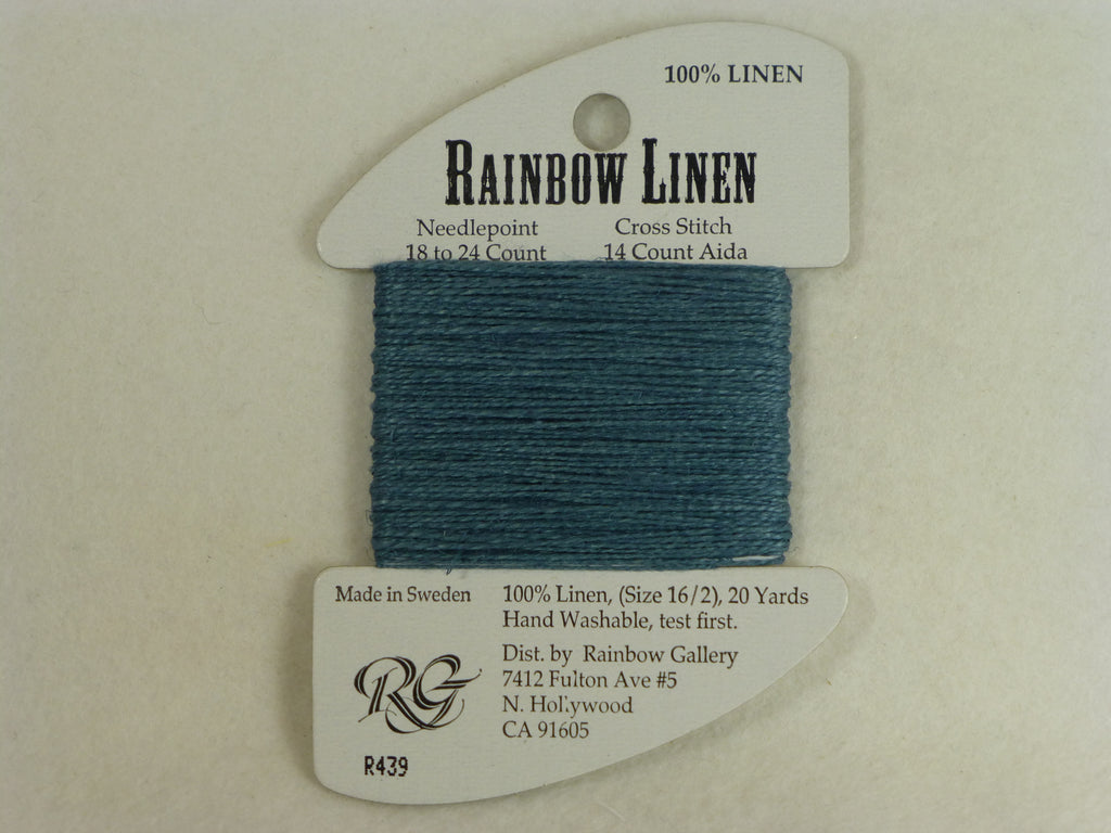 Rainbow Linen R439 Dark Gray Green