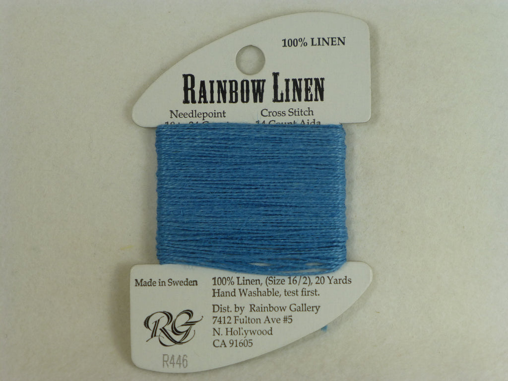 Rainbow Linen R446 French Blue