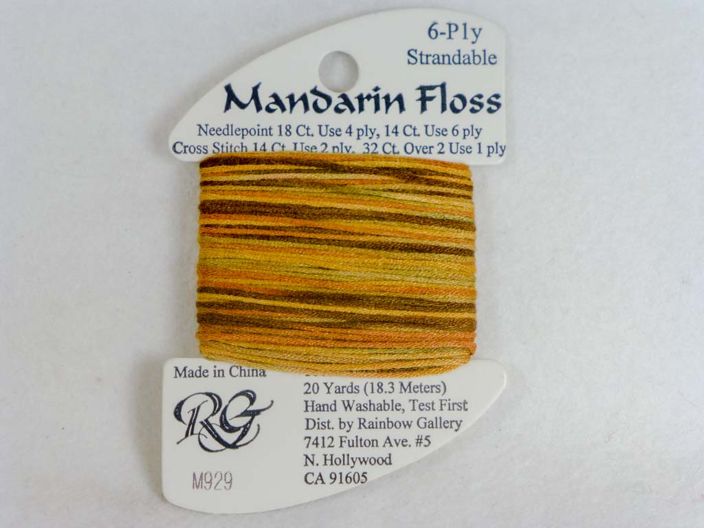 Mandarin Floss M929 Golden Hills