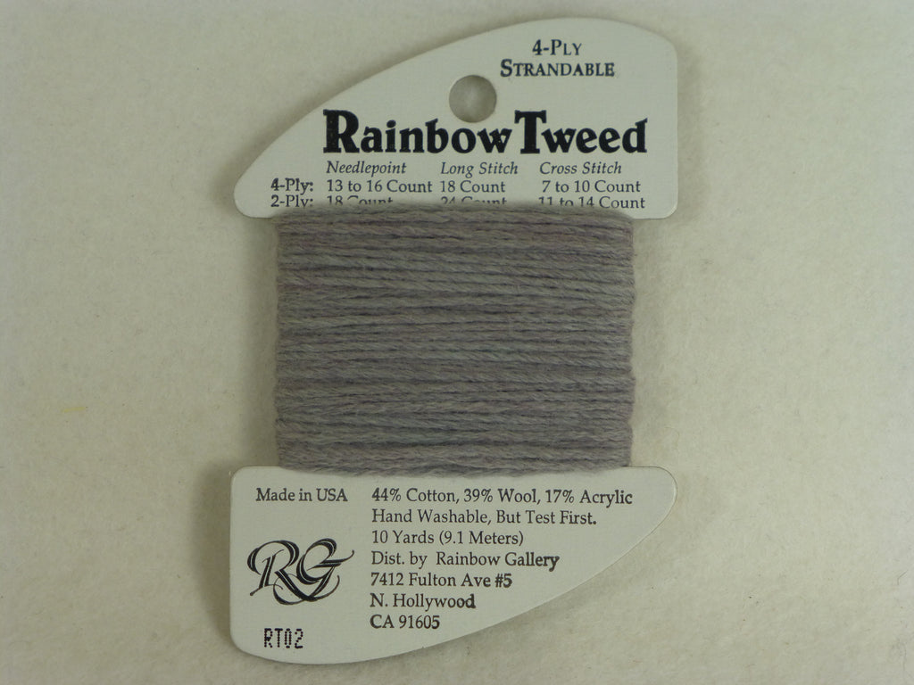 Rainbow Tweed RT02 Medium Shell Gray