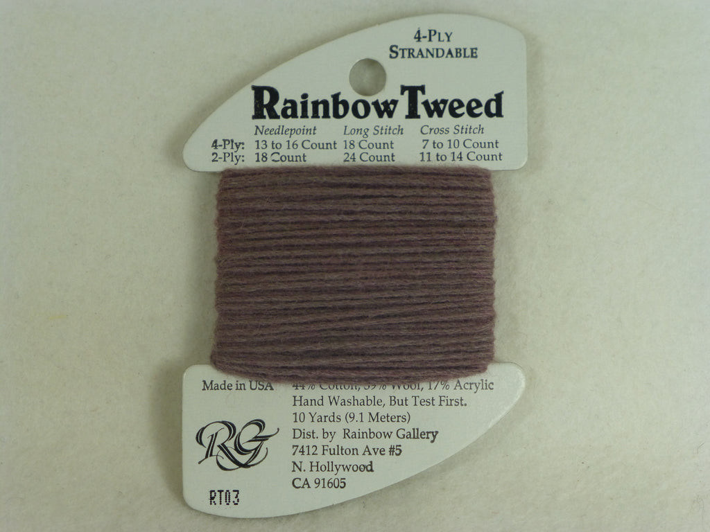 Rainbow Tweed RT03 Dark Shell Gray
