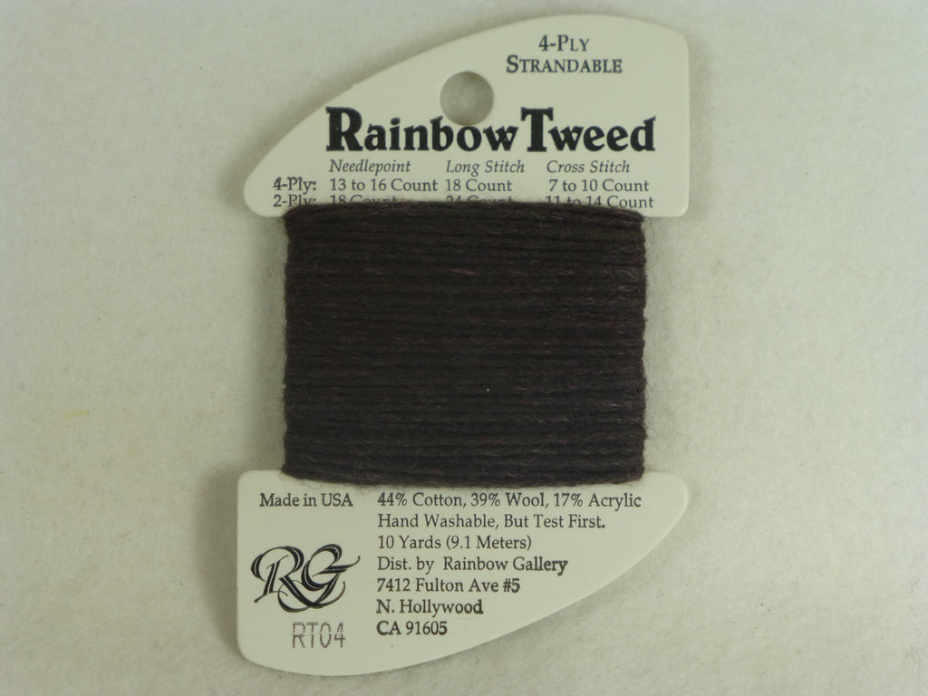 Rainbow Tweed RT04 Charcoal Gray