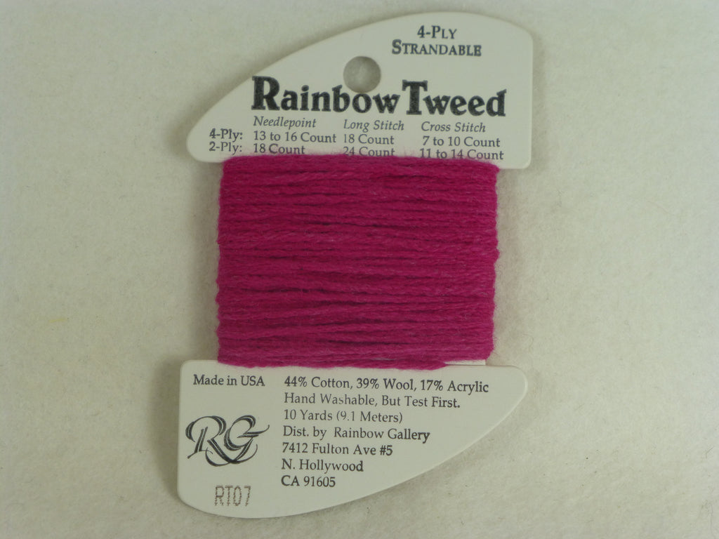 Rainbow Tweed RT07 Fuchsia