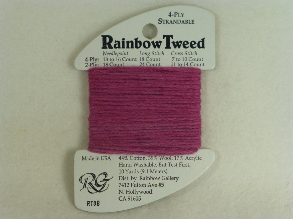 Rainbow Tweed RT08 Raspberry