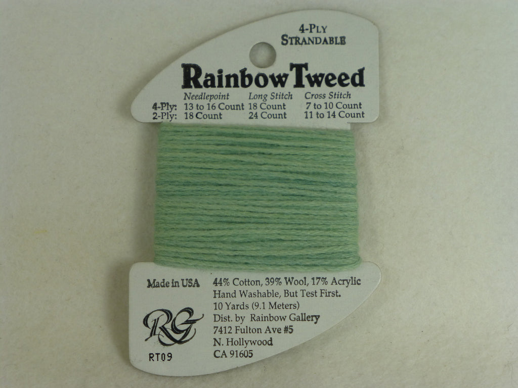 Rainbow Tweed RT09 Baby Green