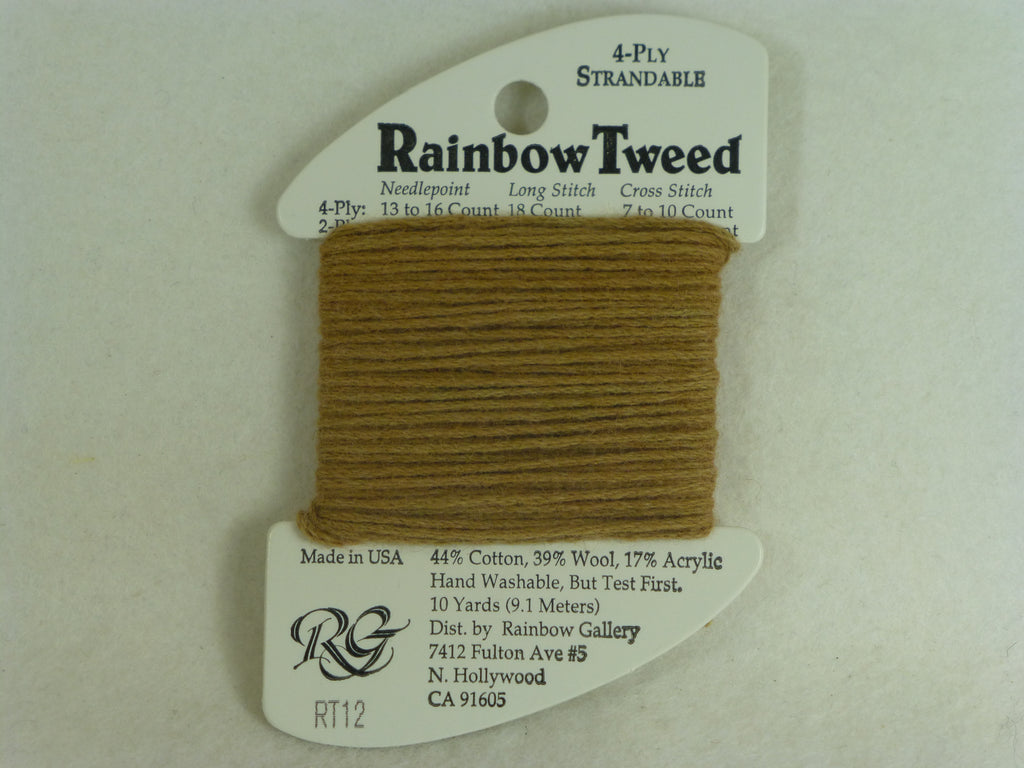Rainbow Tweed RT12 Dark Tan