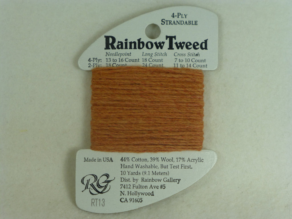 Rainbow Tweed RT13 Terra Cotta
