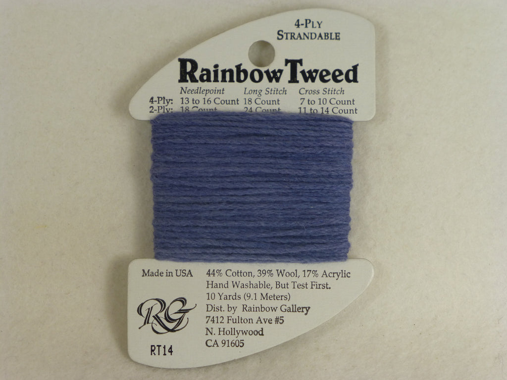 Rainbow Tweed RT14 Periwinkle