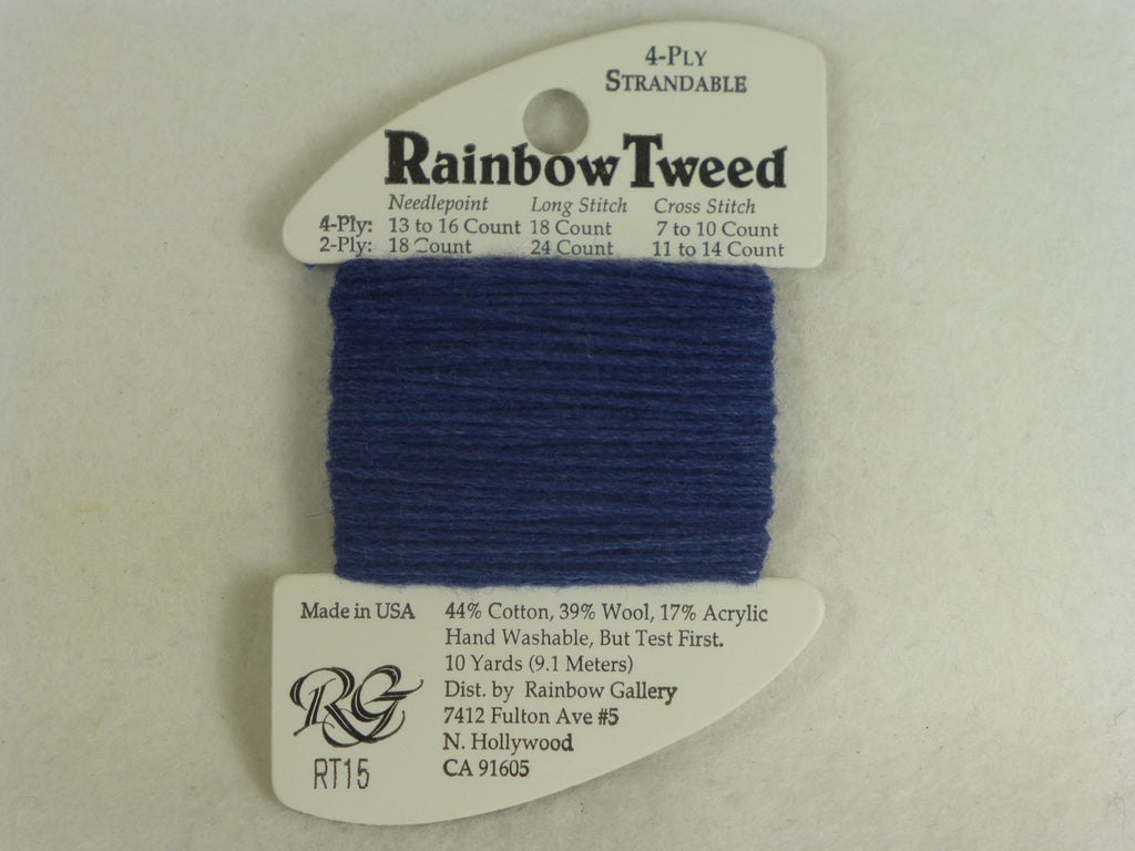 Rainbow Tweed RT15 Denim