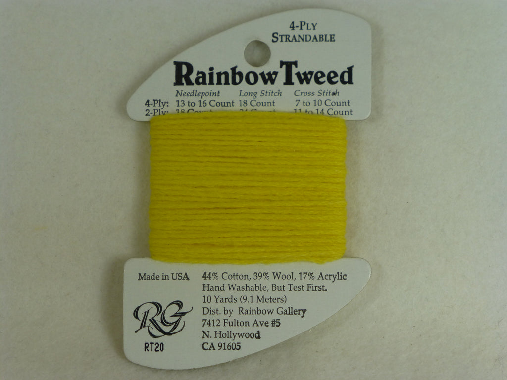 Rainbow Tweed RT20 Yellow