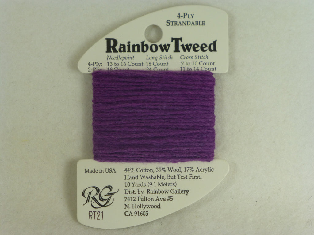 Rainbow Tweed RT21 Violet