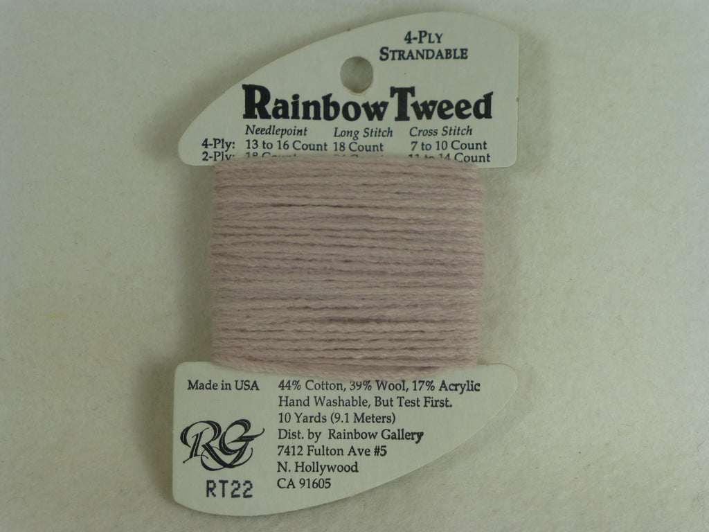Rainbow Tweed RT22 Pale Mauve