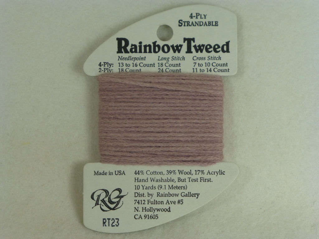 Rainbow Tweed RT23 Mauve