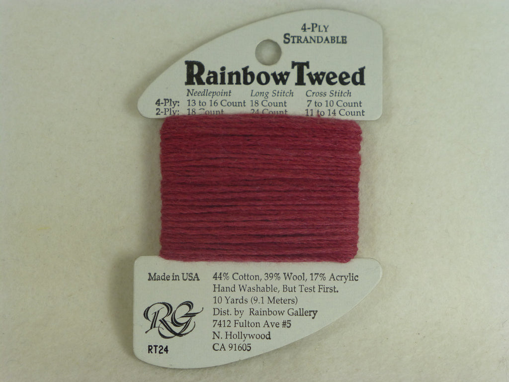 Rainbow Tweed RT24 Dark Mauve