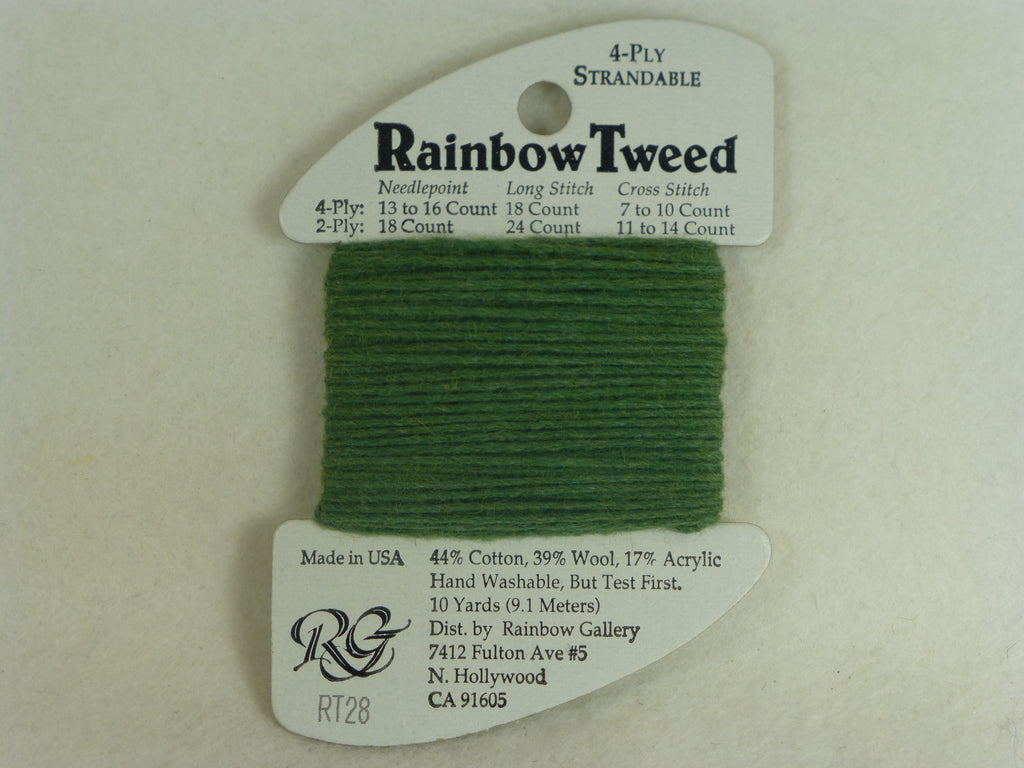 Rainbow Tweed RT28 Dark Green